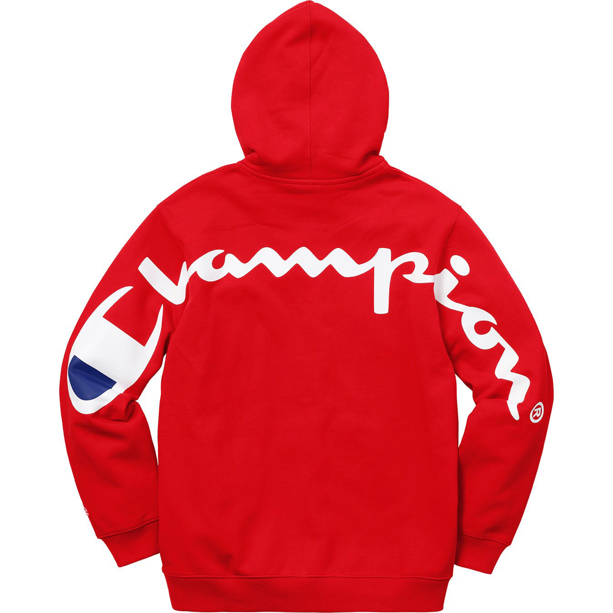 Fancy Supreme X Champion Hooded Sweatshirt Red X Large Champion Hooded Sweatshirt Stylish Hoodies Champion Clothing [ 1239 x 1239 Pixel ]