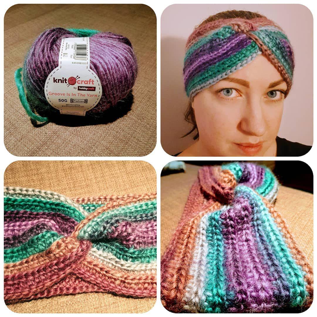 Cozy Twisted Earwarmer Ready For The Cold Weather Hobbycraft Crochetismyhobby Crochet Earwarmer Earwarmerhea Crochet Fashion Knitted Hats Winter Outfits