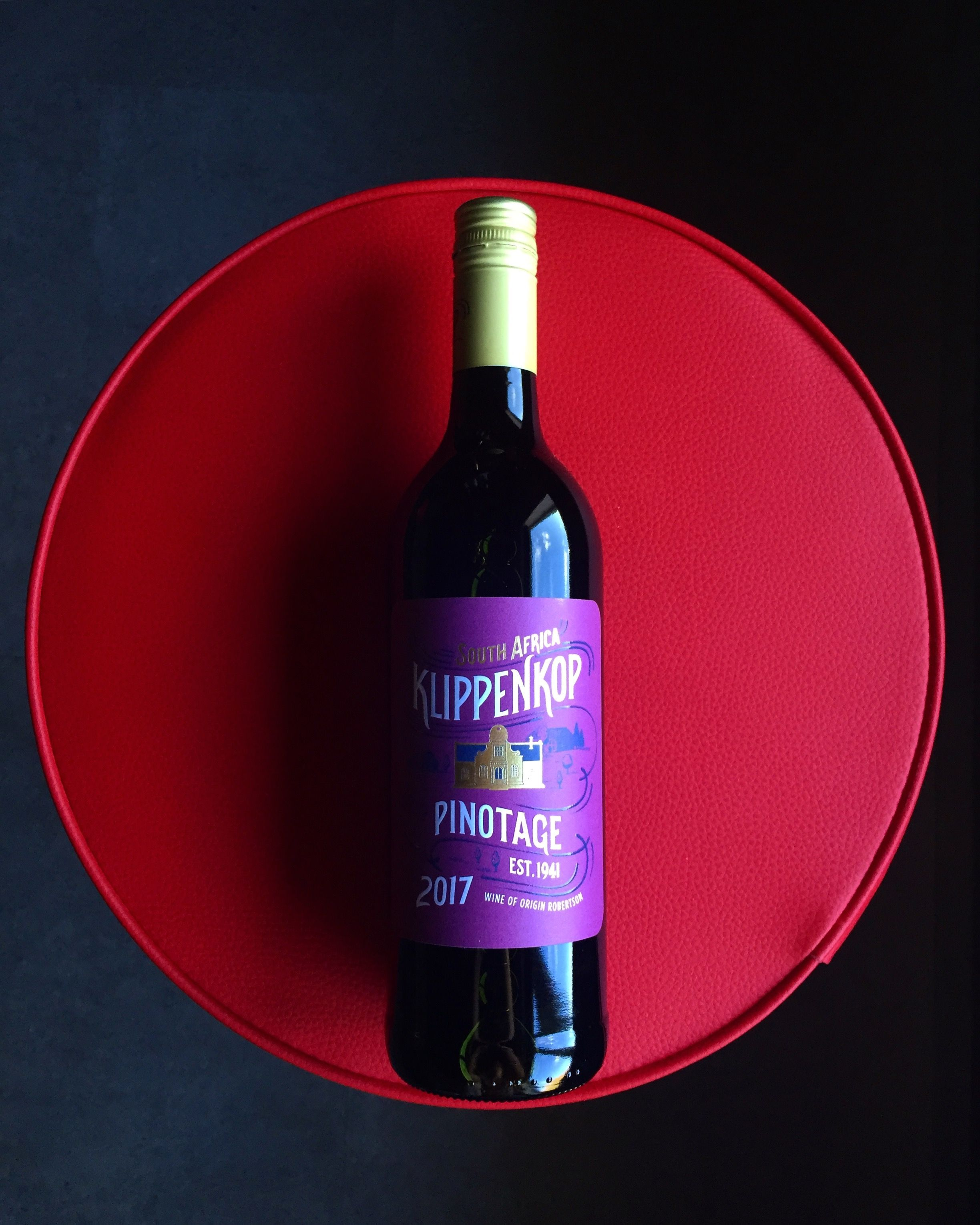 Klippenkop Pinotage Dark And Brooding Black Fruit With A Hint Of Chocolate Nicely Matched With The Sofa A Blanket And A Good Tv Show Red Wine Wine Collection Wine
