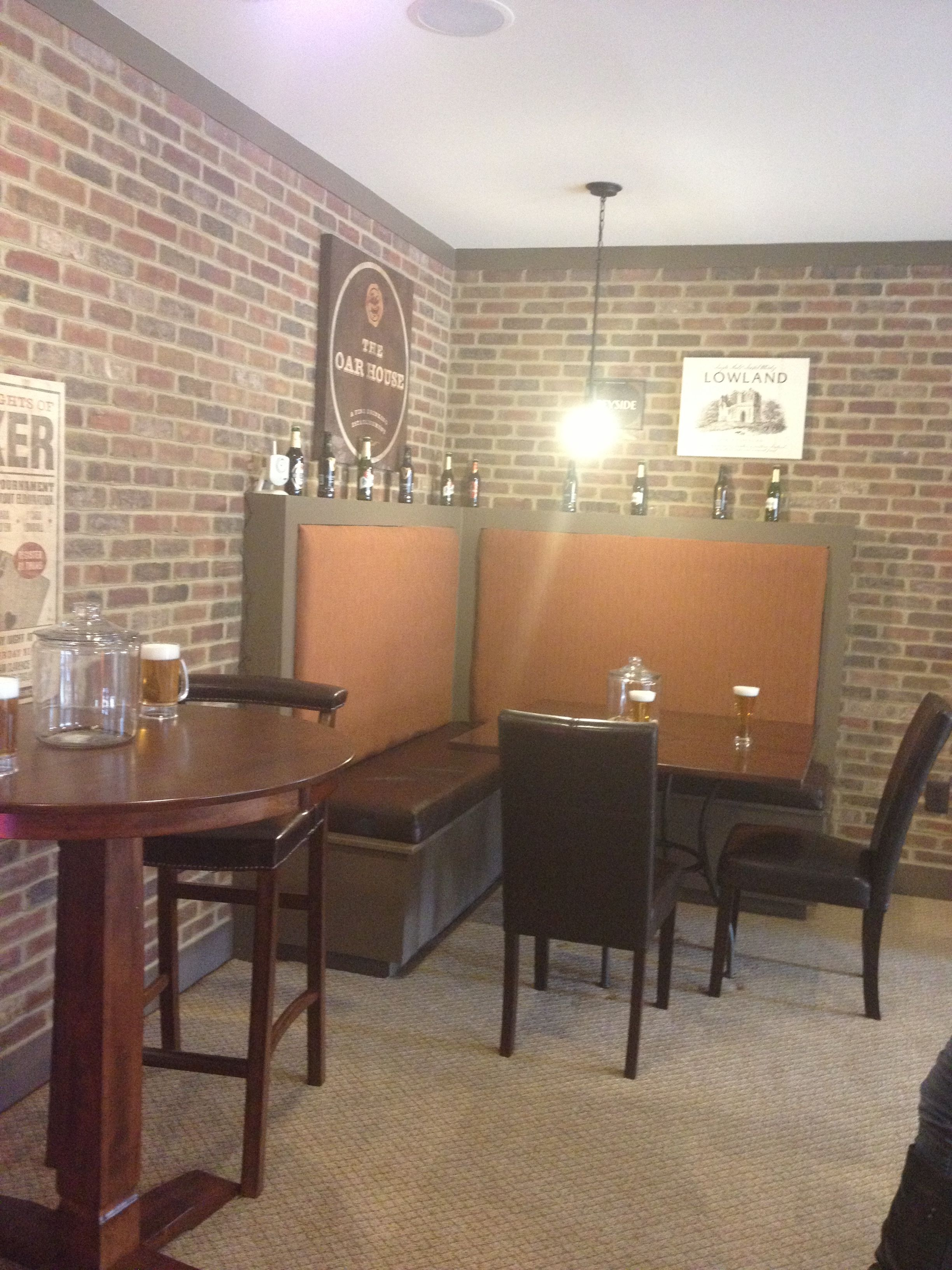 Basement Game Room Designs: Basement Tavern (With Images)
