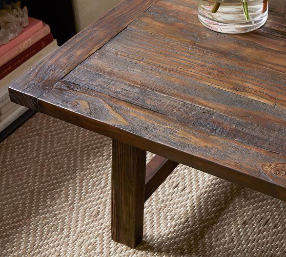 Bartol Reclaimed Pine Coffee Table