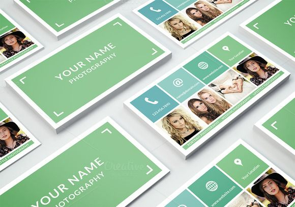 Business Card Template Photoshop | Ideas | Pinterest | Card