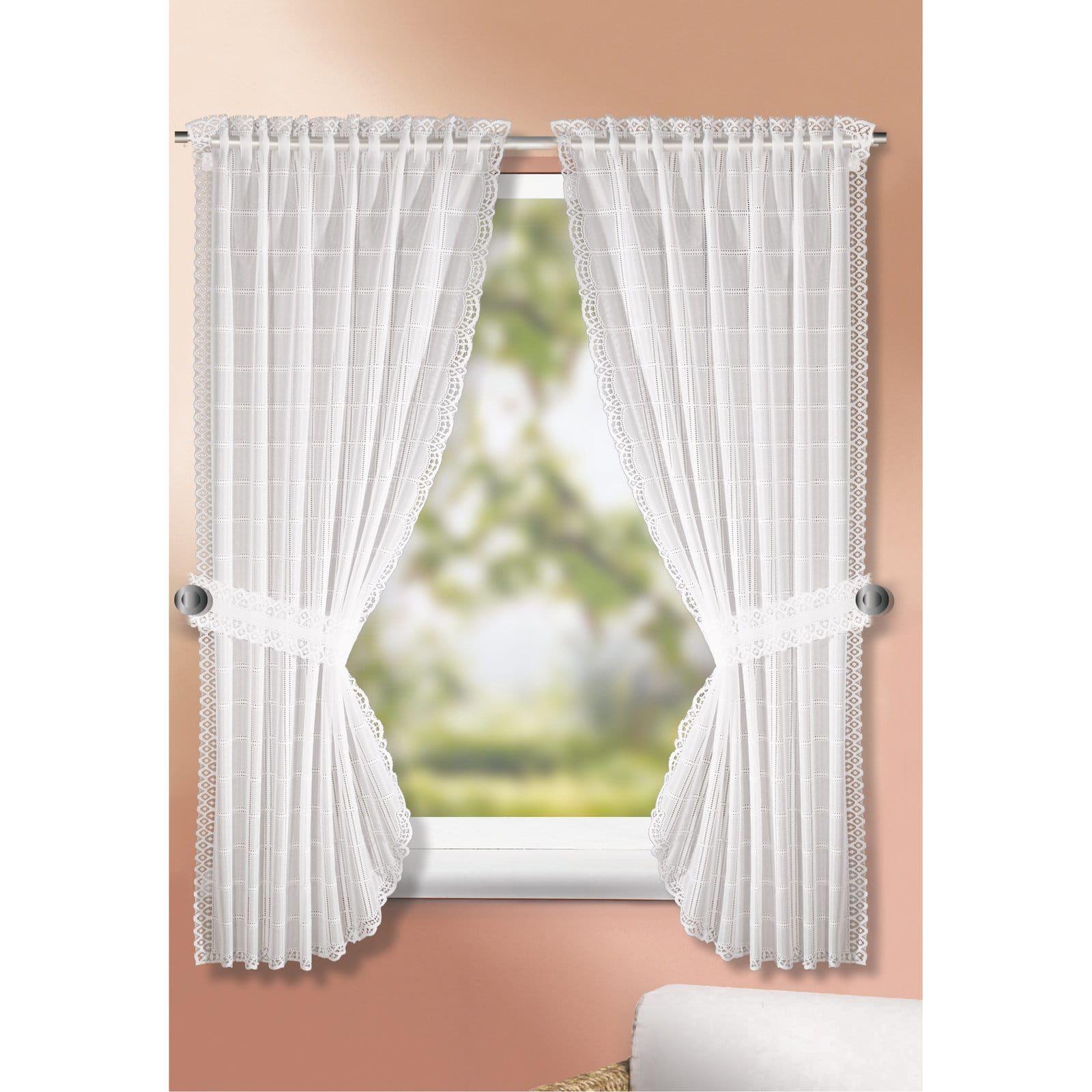 Landhausgardinen Set   weiß   90x160 cm | Bildwände | Pinterest