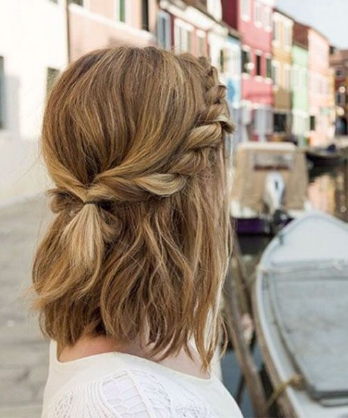 Most Romantic Shoulder Length Prom Hairstyles 2017 Love Life Fun Medium Hair Styles Short Hair Styles Hair Styles 2016