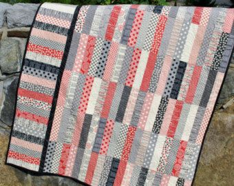 Quilt Pattern.....Jelly Roll and Fat Quarter friendly, ..Baby, Lap ... : quilt patterns with jelly rolls - Adamdwight.com