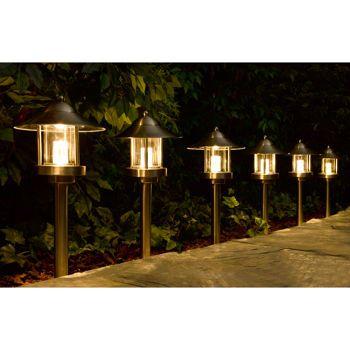 Westinghouse Grande Chaumont LED Low Voltage Landscape Light Set Six Path Lights u0026 Two Spot  sc 1 st  Pinterest & Westinghouse Grande Chaumont LED Low Voltage Landscape Light Set ... azcodes.com