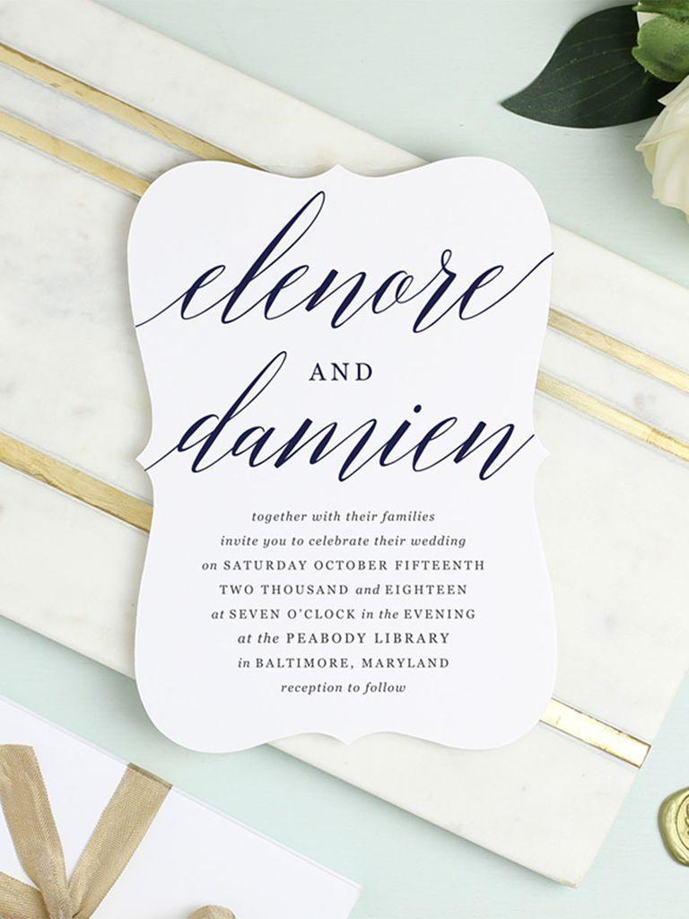 16 Printable Wedding Invitation Templates You Can DIY Invitation