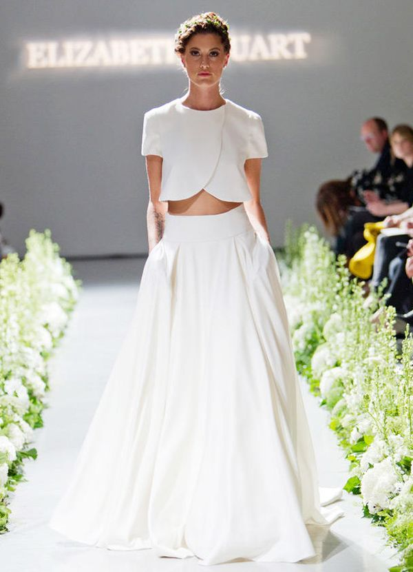 25 Cool Wedding Dresses For Edgy Whimsy Brides