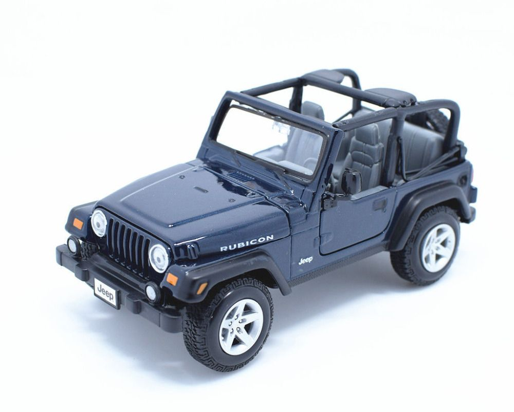Click To Buy Maisto 1 27 Jeep Wrangler Rubicon Blue Diecast Model Car Toy New In Box Free Shipping Affiliate Toy Car Toys Car