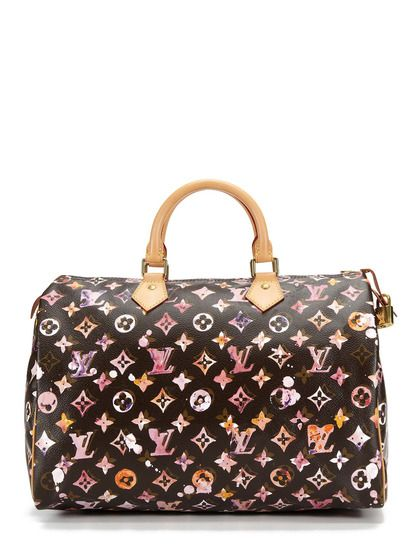 79f5eda884ae Limited Edition Watercolor Aquarelle Speedy 35 by Louis Vuitton on Gilt.com