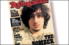 Dzhokhar Tsarnaev on Rolling Stone Cover - Where is Common Sense and Common Decency ... from aish.com