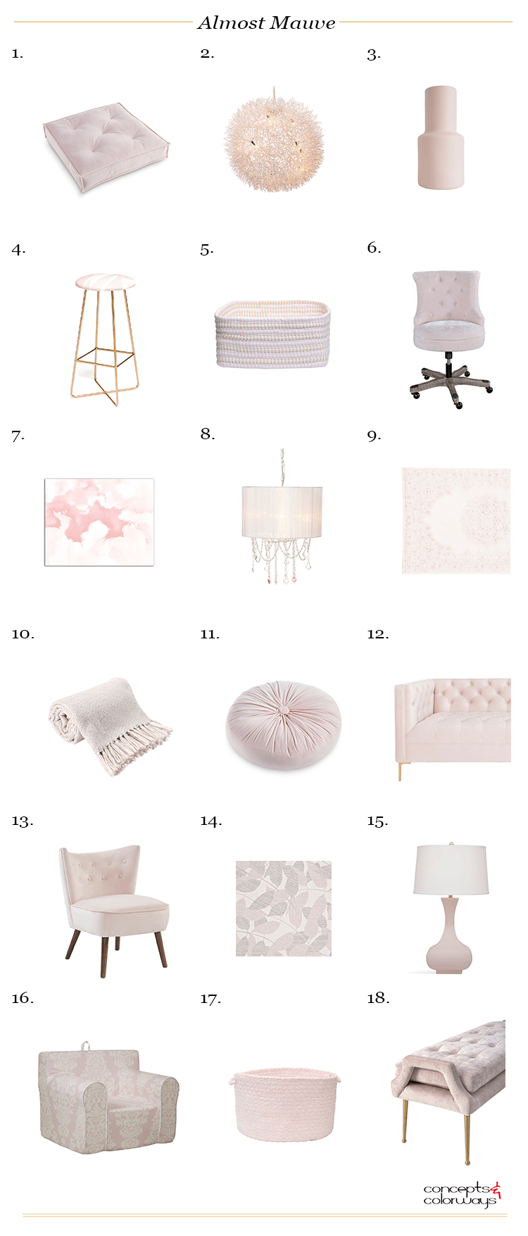 Pantone Almost Mauve A Barely There Color For Blush Pink Decor Cheap Dining Room Chairs Blush Pink Decor Pink Decor