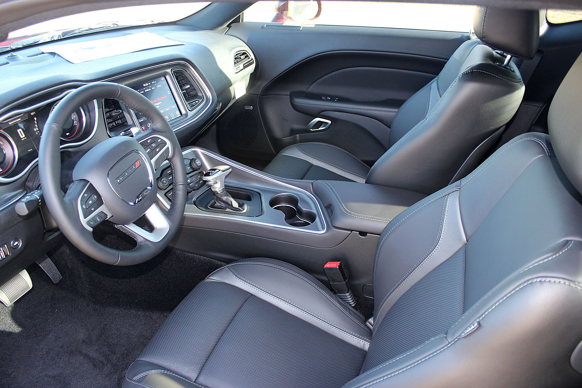 2017 Dodge Challenger R T Plus Interior