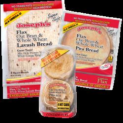 Joseph S Flax Oat Bran Whole Wheat Keto Low Carb Pita Bread Lavash Bread And Mini Pita Combo Pack Low Carb Pita Bread Low Carb Meals Easy Low Carb Bread