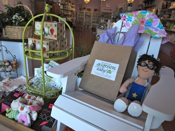 """""""Go Green Baby!"""" Eco-Friendly Baby Store is Small Business With Big Heart - Naperville, IL"""
