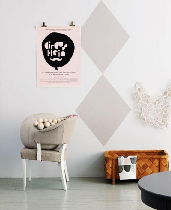 FIGURAS GEOMÉTRICAS Noelia Cachafeiro blog de decoración Muros