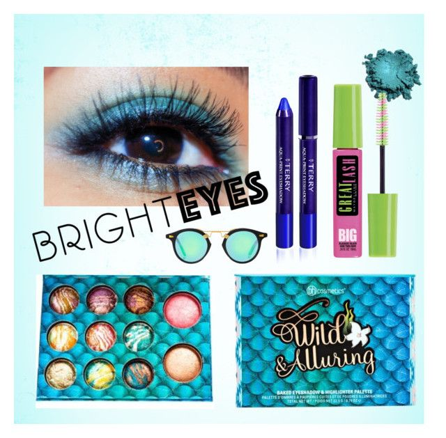 """""""Bright Eyes 7.09"""" by jen-bourne ❤ liked on Polyvore featuring beauty, Maybelline, By Terry and brighteyes"""