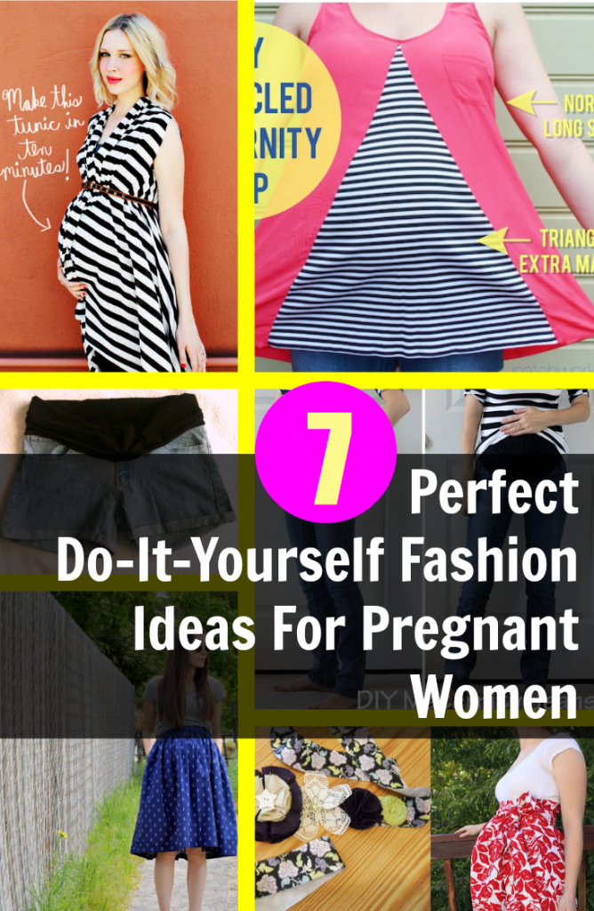 79033a3ee0df5 7 Perfect Do-It-Yourself Fashion Ideas For Pregnant Women | Sewing ...