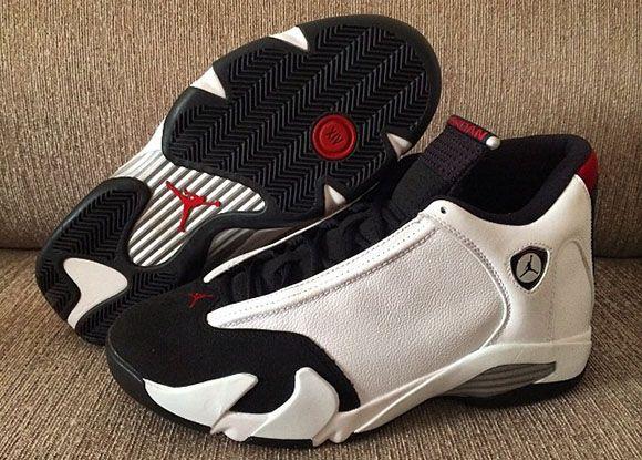 Air Jordan 14 Black Toe 2014 Retro  6236b5db0
