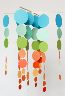 Cool do it yourself mobile with paint chip cards and wooden dowels cool do it yourself mobile with paint chip cards and wooden dowels different colors for paisley and maybe stars instead of circles solutioingenieria Image collections