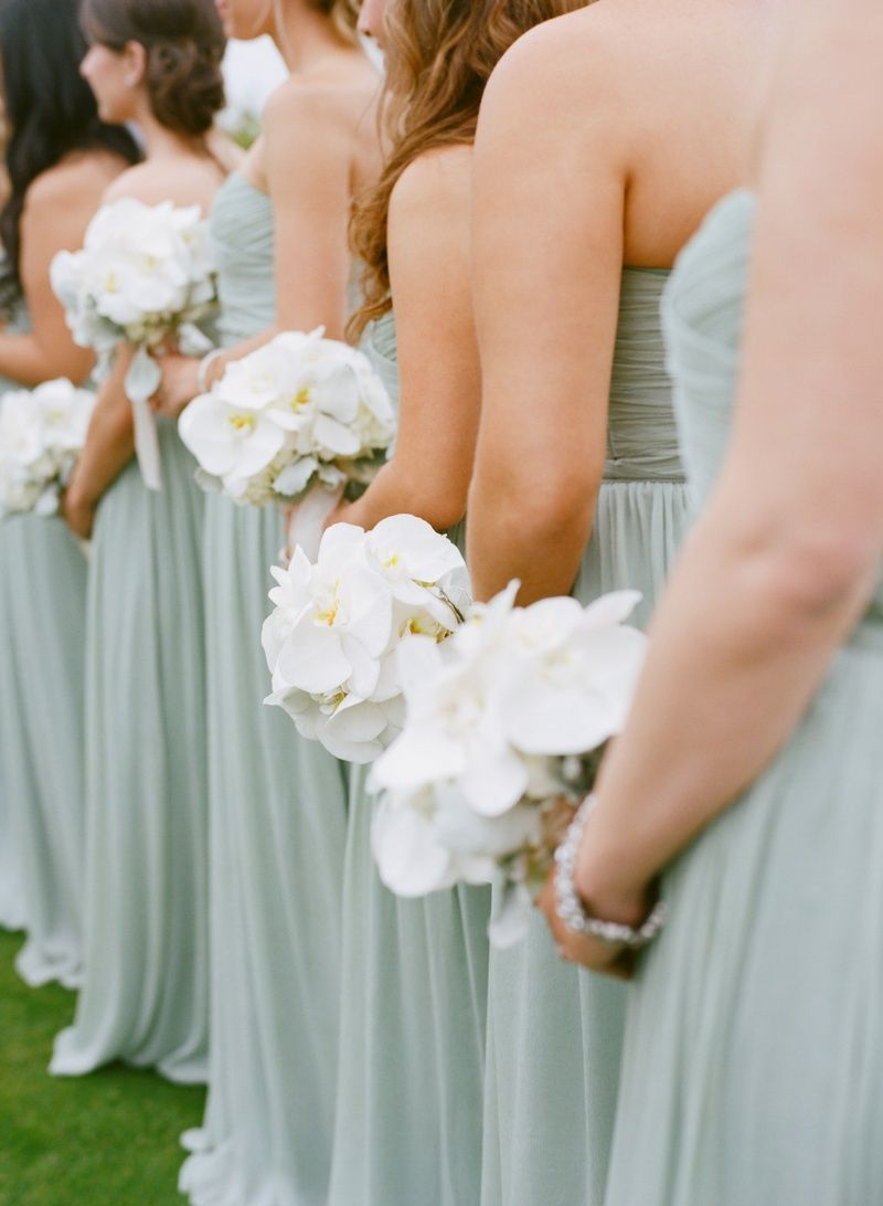 White bridesmaid bouquets photography marisa holmes read more