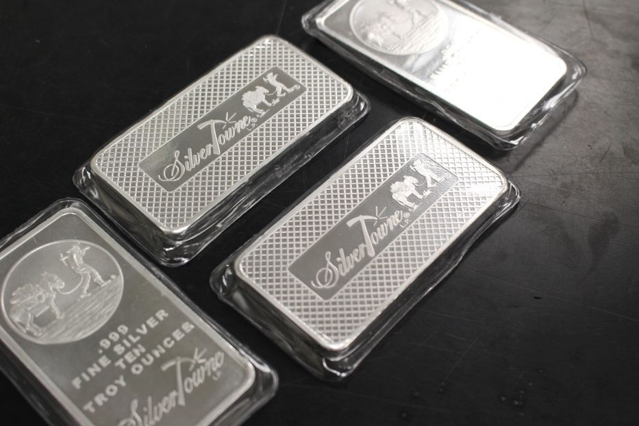 10 Oz Silver Bars For Sale 10 Troy Weight Bullion Money Metals Exchange Silver Bars Gold Money Silver