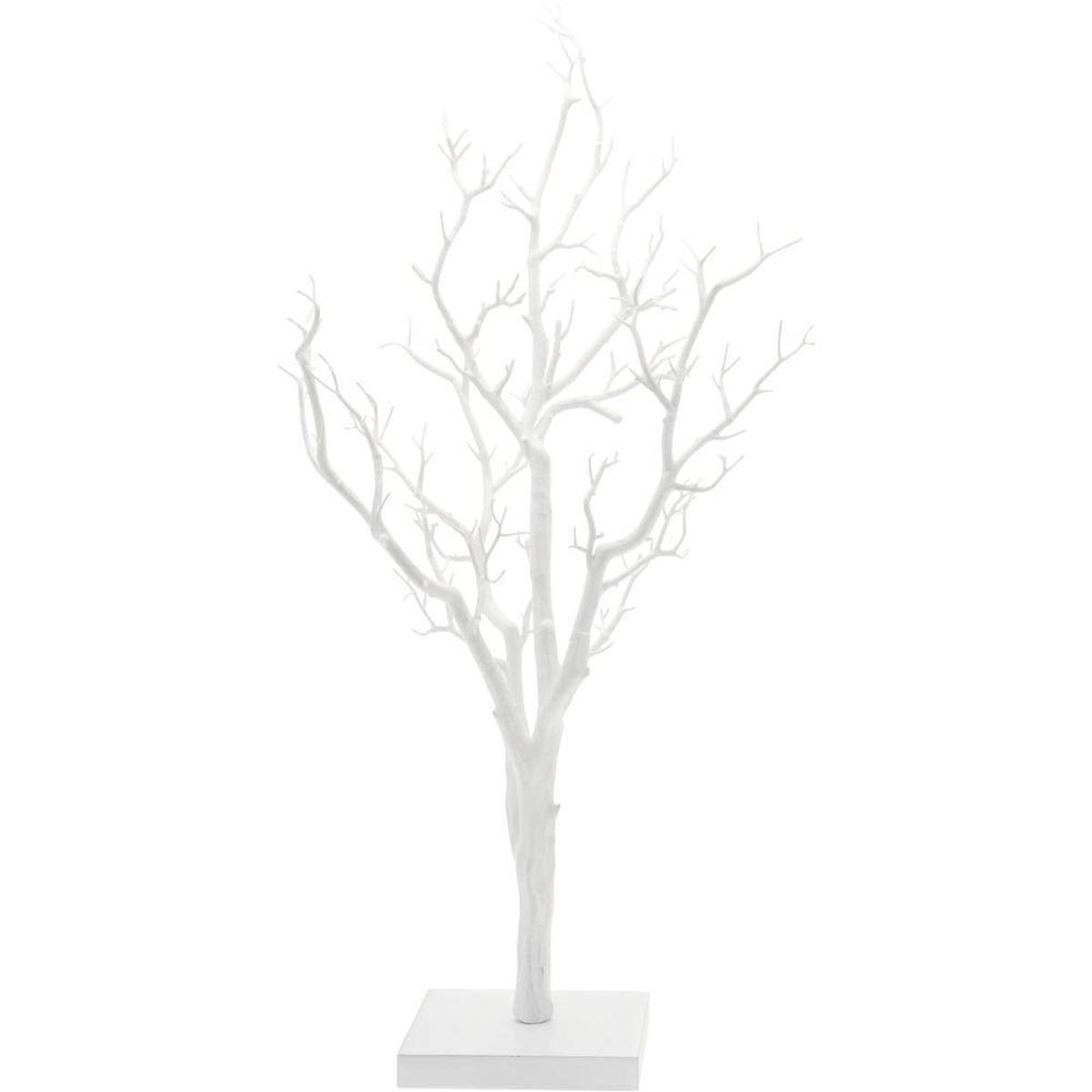 Twig Wishing Tree 76cm White Decorative Festive Wedding Manzanita ...