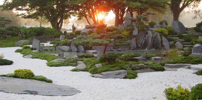 Japangarten In Bremerhaven Zen Garten Und Japanischer Garten Teich Und Wasserfall Japanischer Garten Zen Garten Asiatischer Garten