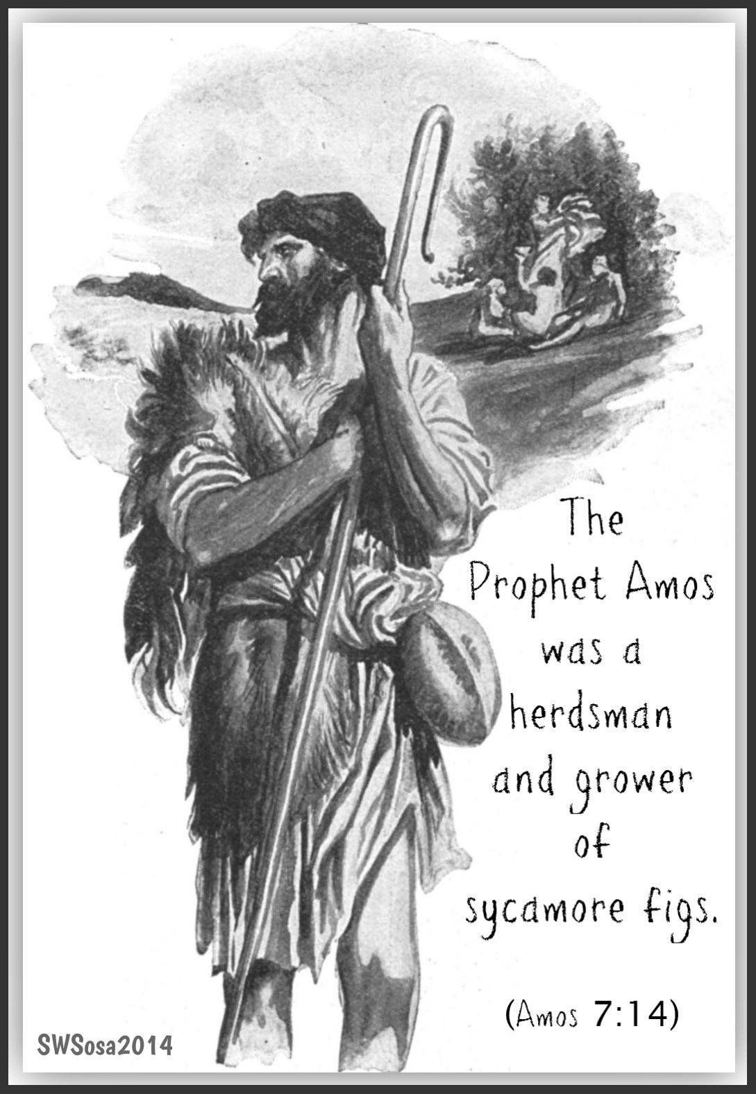 the prophet amos Amos: the lord reveals his secrets to his servants the prophets-old testament student manual kings-malachi.