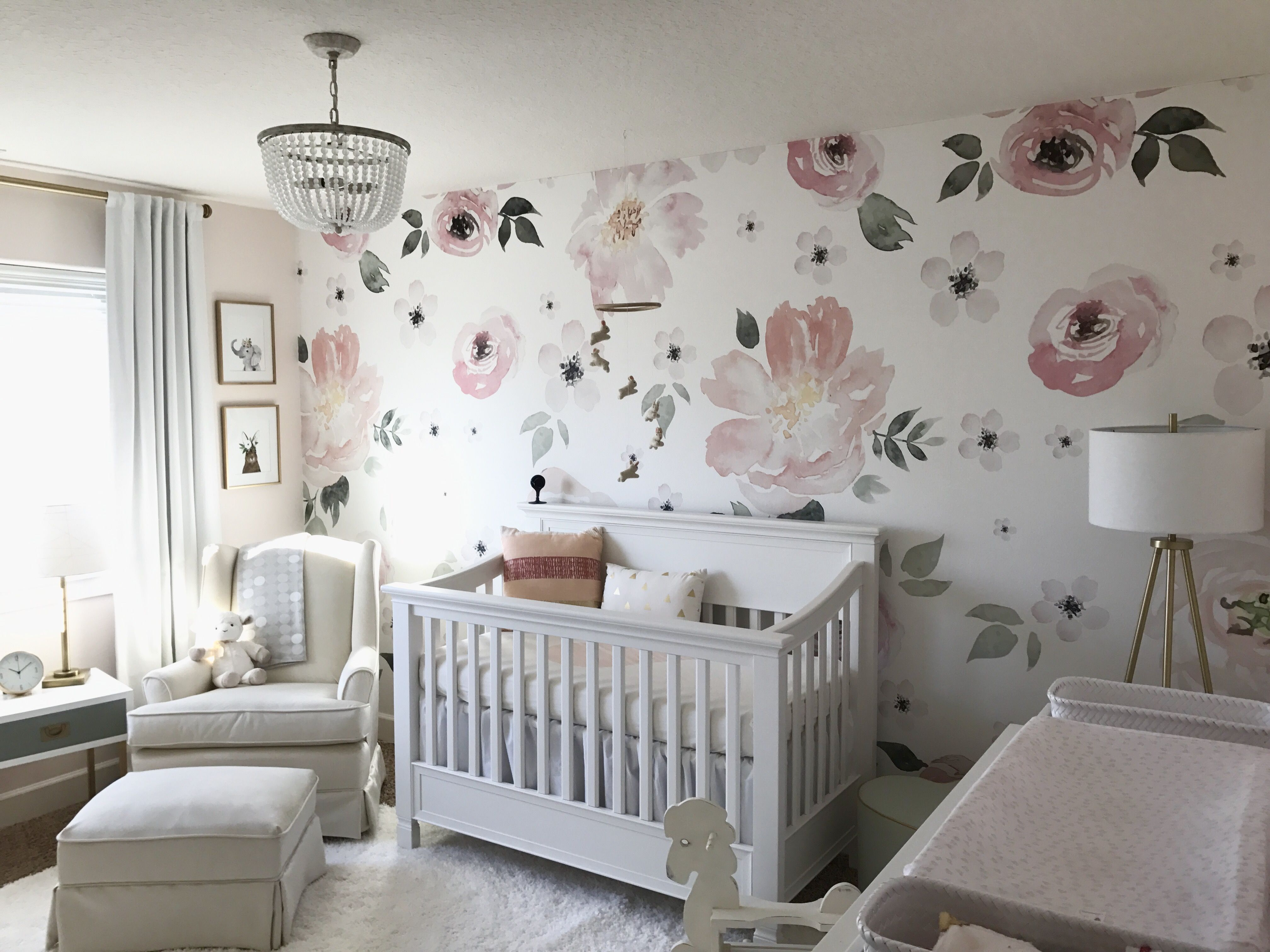 Baby girls nursery.