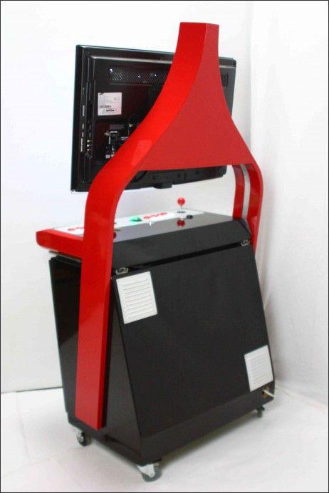 Menuisier pour borne d\u0027arcade personalisée et meuble Geek Arcade