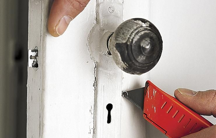 How To Strip Paint From Hardware Stripping Paint Paint Remover Vintage Door Hardware