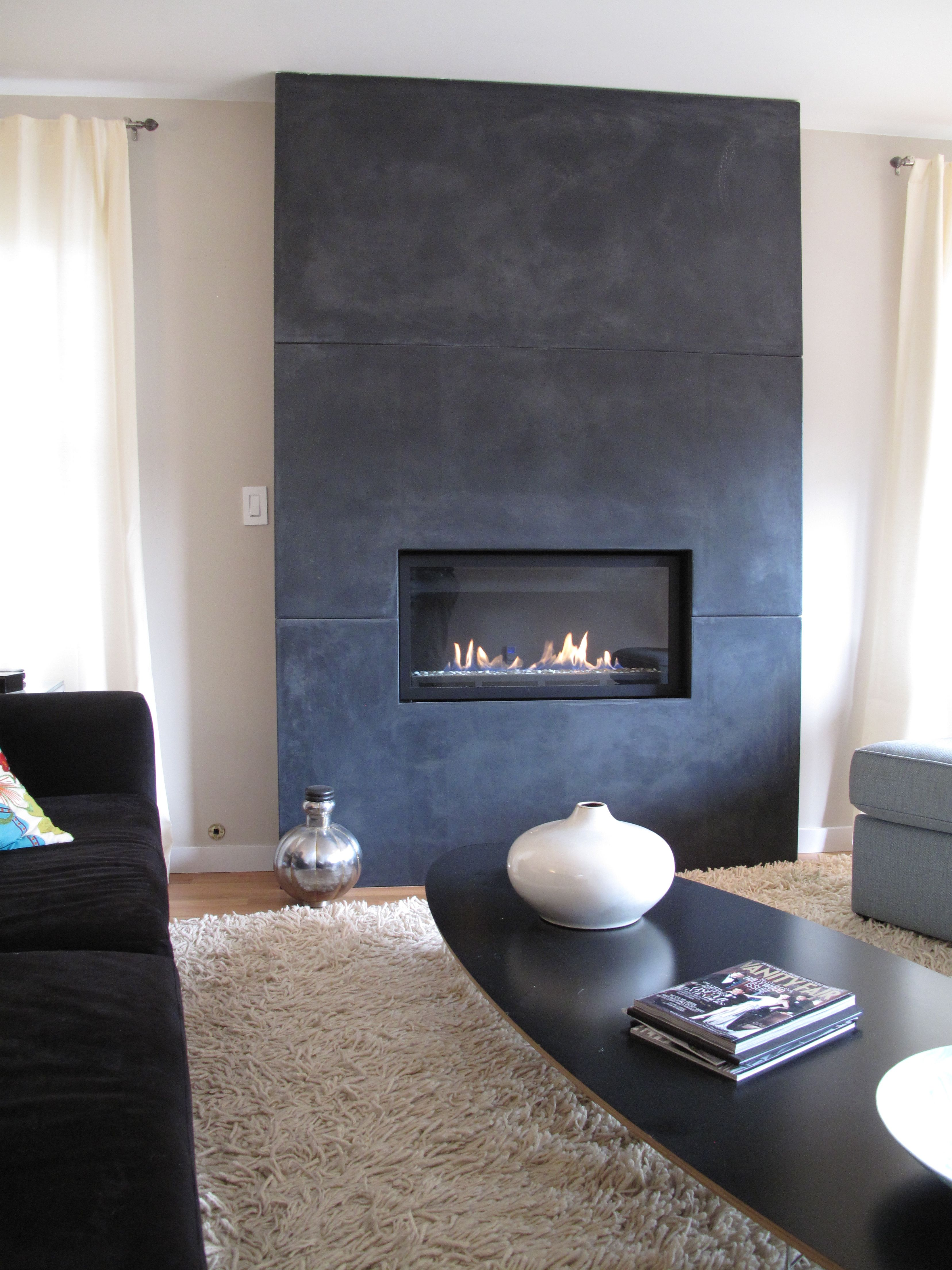concrete and fireplace afters befores marfil up blog surround img modern dramatic traditional of close crema transformations