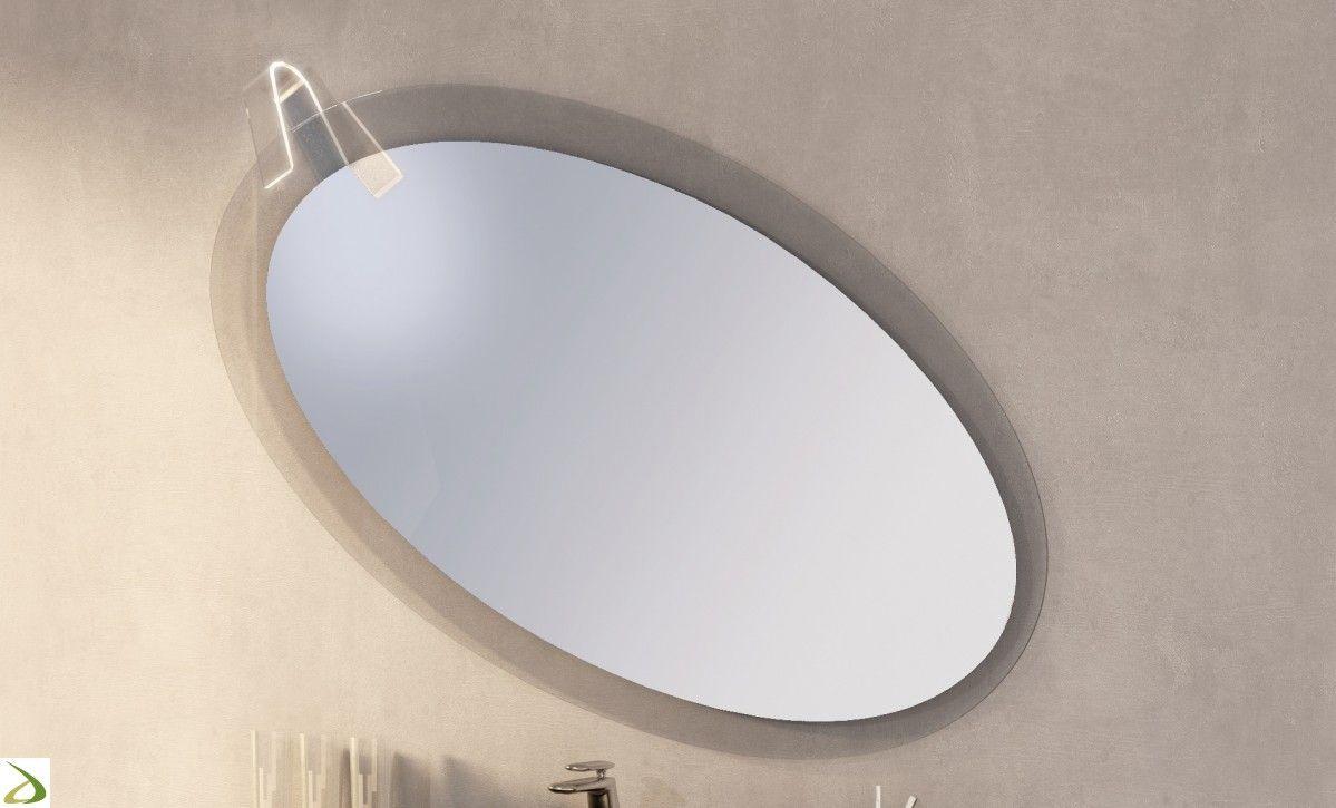 Specchiera bagno moderna oval bagni pinterest