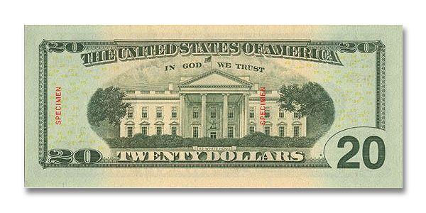 20 Dollars Paper Money Canadian Dollar American Dollar
