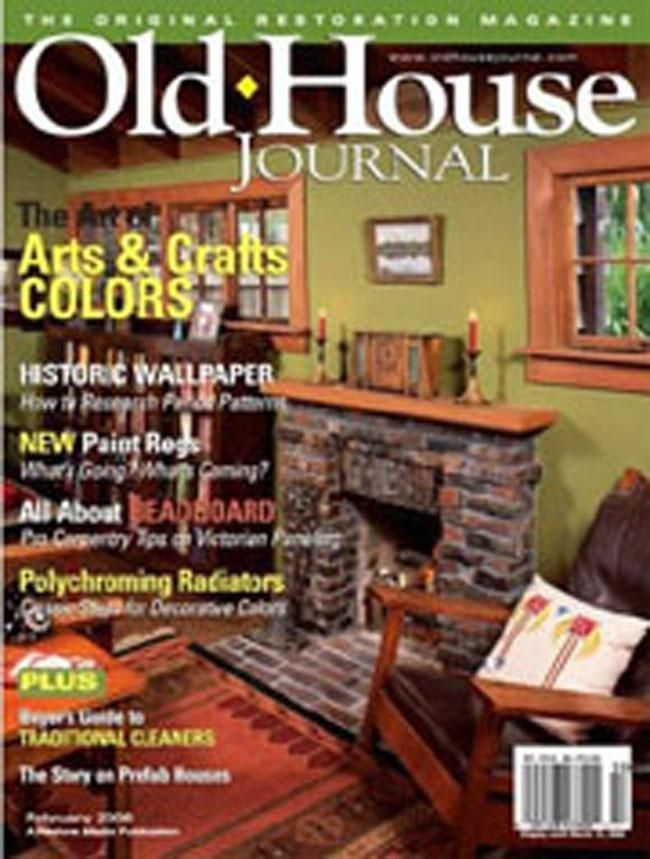 Old House Journal, 6 issues for 1 year