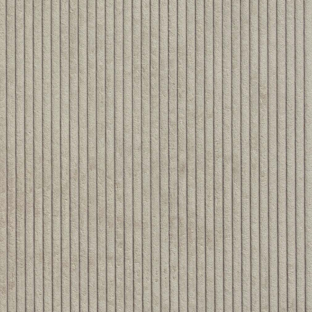 B0700e Grey Stone Corduroy Striped Soft Velvet Upholstery Fabric