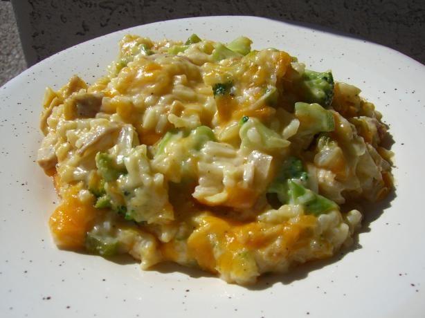 Moms Cheesy Broccoli Rice Casserole  Recipe  Chicken -5025