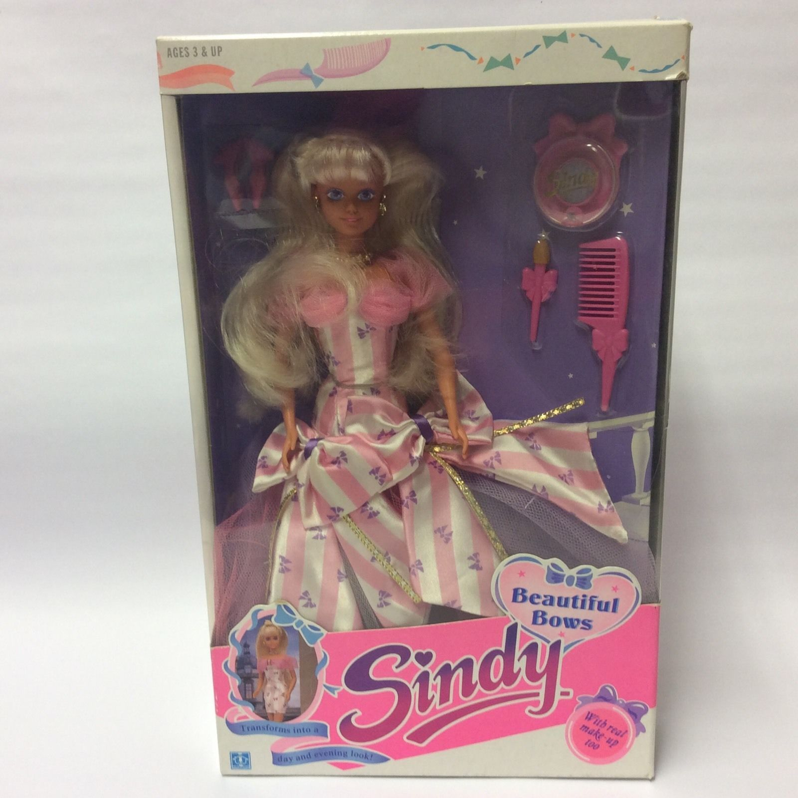 Vintage Hasbro 1990s Sindy Doll - Pop Star Yellow Hair