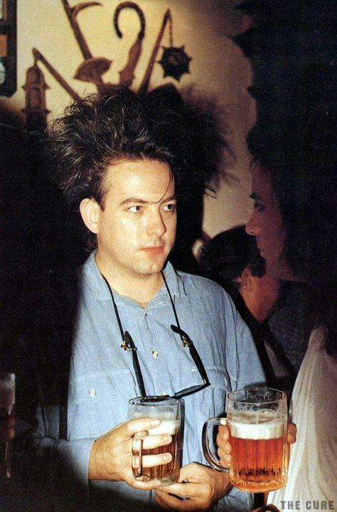 Robert Smith and a beer | Granddaughter (Meya)