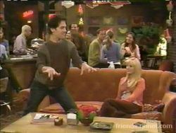 This is the first appearance of Paul Rudd as Mike Hannigan in the series.