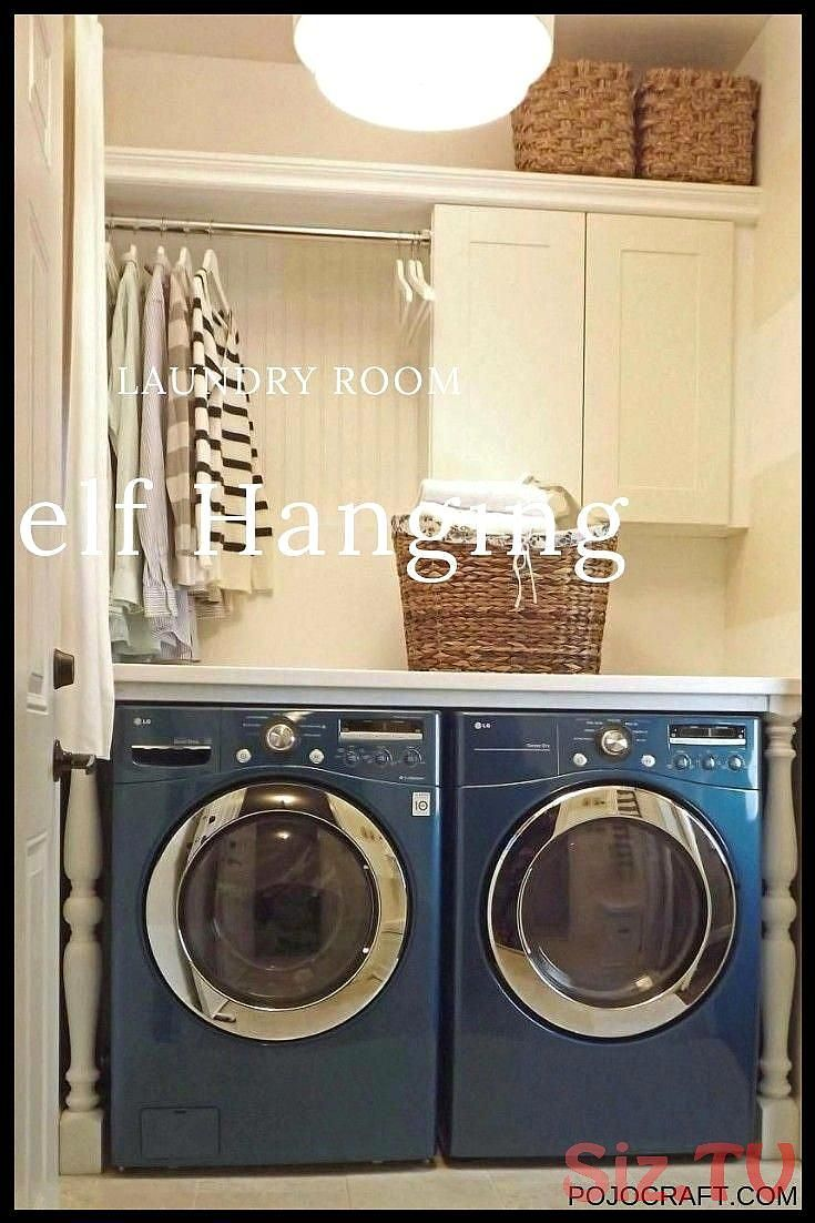 Youve got laundry stuff to keep No need for you to worry since there are many laundry room shelf ideas worth to take into accountlaundryroom Youve got laundry stuff to ke...