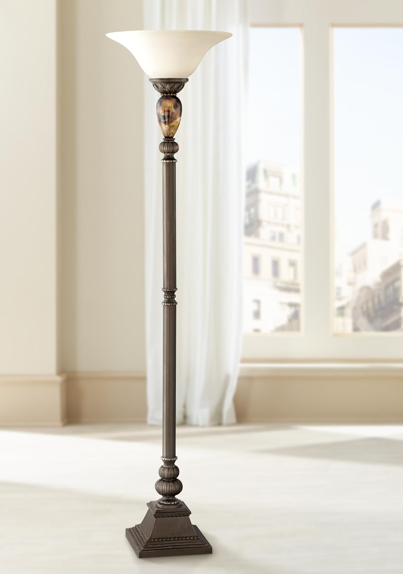 Floor Lamps Kathy Ireland Mulholland 72 High Torchiere Floor Lamp In 2020 Torchiere Floor Lamp Floor Lamp Traditional Floor Lamps