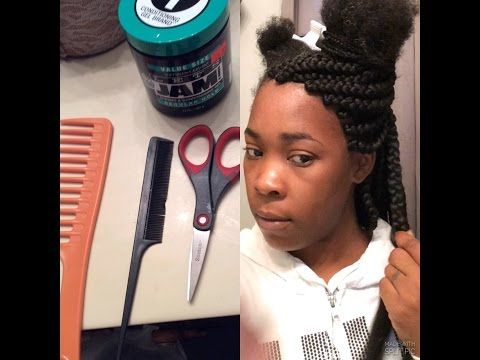 How To Box Braid Your Own Hair Braiding Your Own Hair Step By