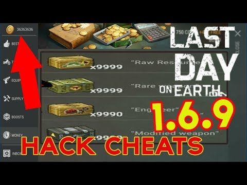 Last Day On Earth Survival 1 6 9 Hack Cheats Unlimited Coins
