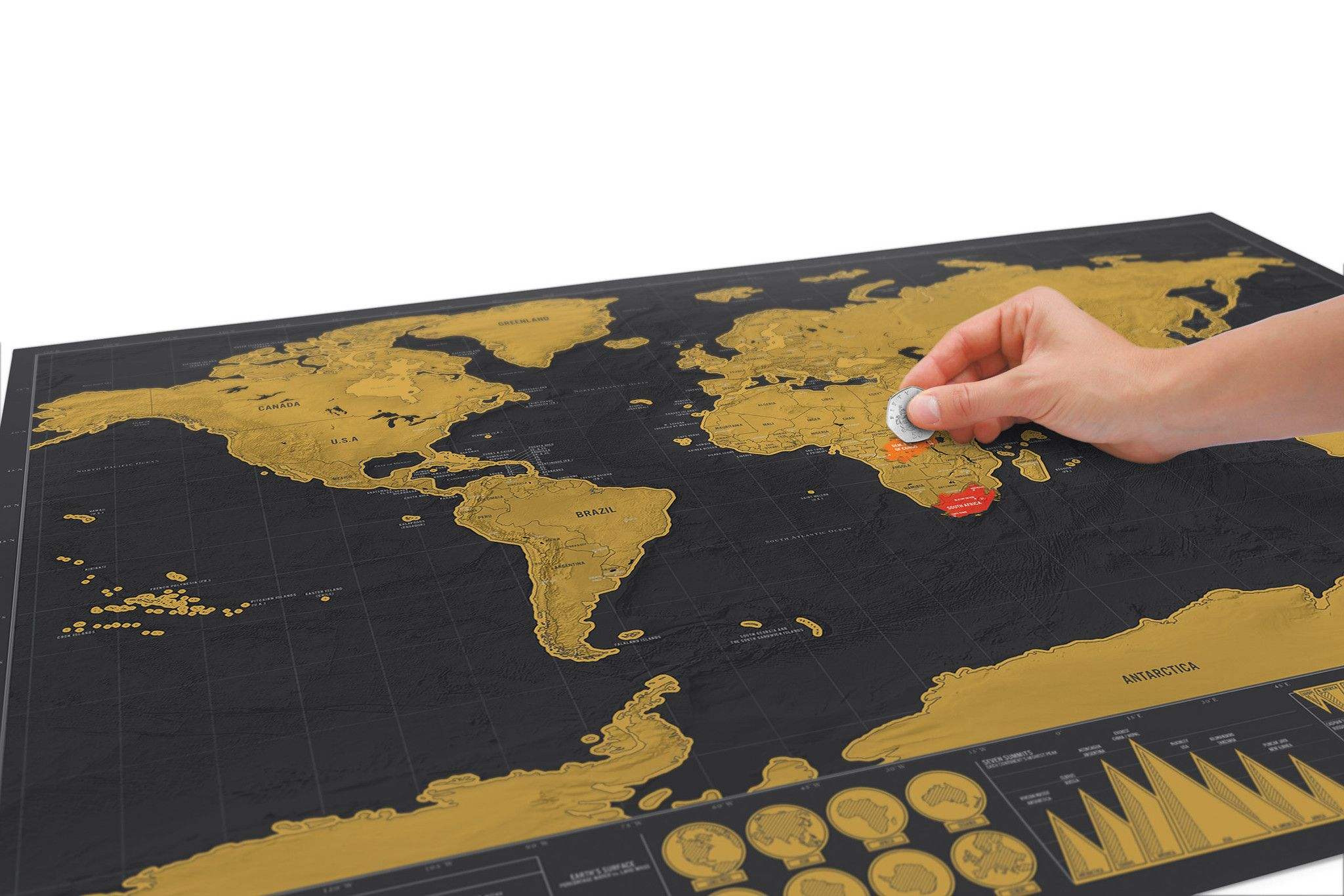 World scratch map deluxe large or travel editions gumiabroncs Choice Image