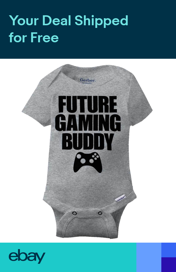 Future Gaming Buddy Gerber Onesie Video Gamer Xbox ...