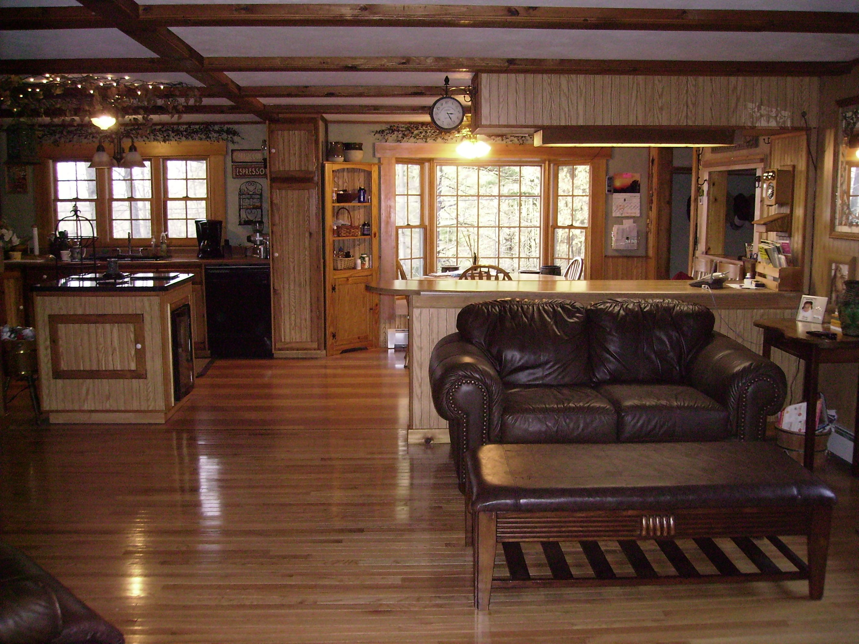 Ranch style homes our ranch style home offers a rustic - Pictures of ranch style homes interior ...