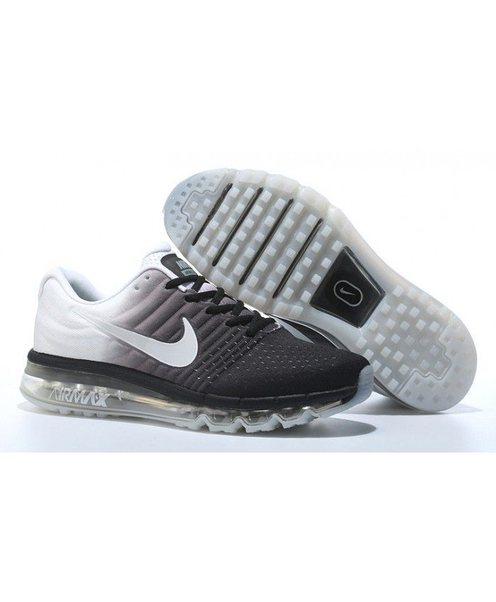 freeshipping adb51 7cd26 chaussures nike air max 2017 blancnoir