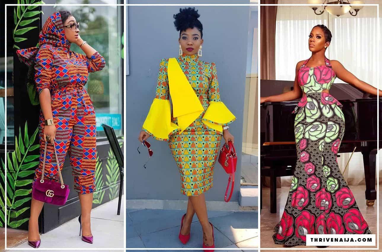 100 Latest Ankara Style Designs For 2020 (Updated) | ThriveNaija ...